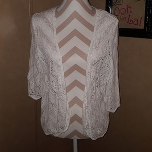 Knitted Lace Vest